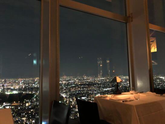 ラグジュアリーリムジン対象のパークハイアット東京 ニューヨークグリル