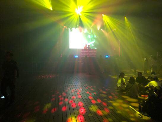 アメックス花火大会2019 HANAVIVAのステージ