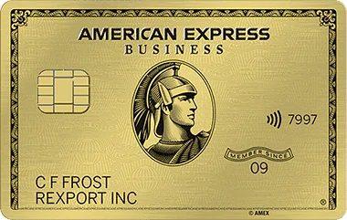 アメックスビジネスゴールドのメタルカード