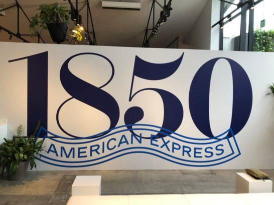 1850年に創業したアメリカン・エキスプレス