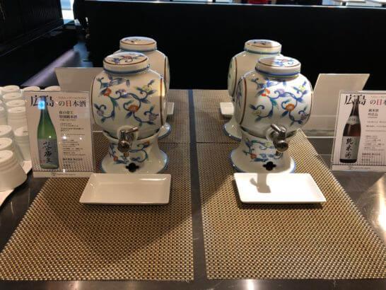 ANAラウンジ(羽田空港国際線)の日本酒 (2)