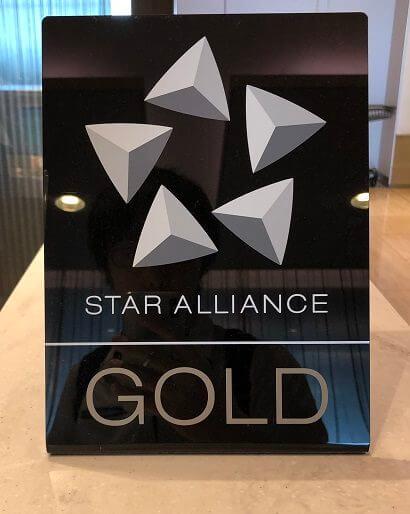 スターアライアンス ゴールドのロゴ