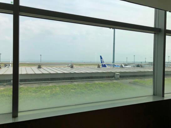 ANAラウンジ 羽田空港国内線(本館南)からの眺望