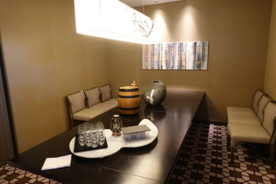 東京マリオットホテルの個室(ジェントル)