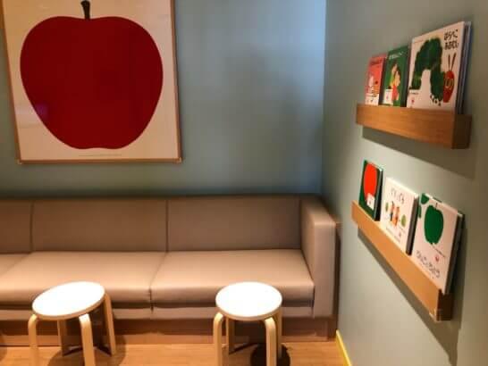 羽田空港国内線サクララウンジのこどもラウンジの室内 (2)