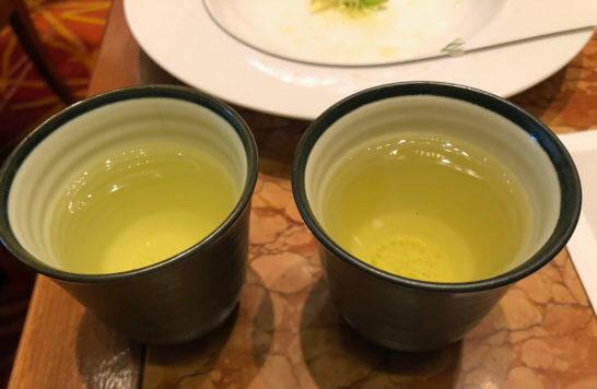 ザ・ペニンシュラ東京の朝食の緑茶