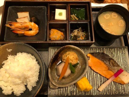 ザ・ペニンシュラ東京の和朝食