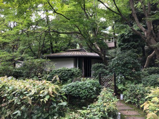 東京マリオットホテルの茶室