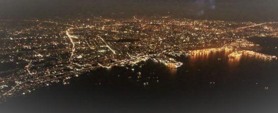 フィリピン・マニラの夜景