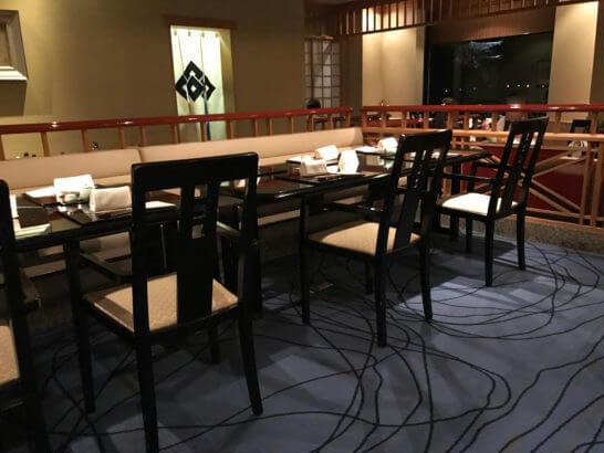 椿山荘の日本料理みゆき