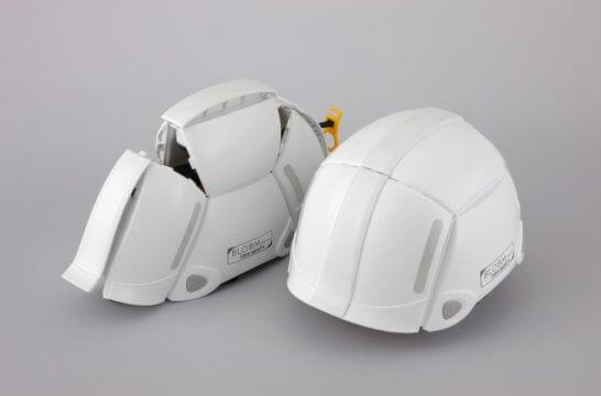 防災用折り畳みヘルメット