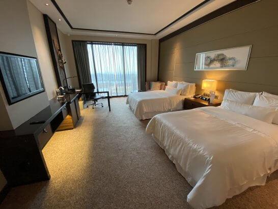 ウェスティン シンガポールのプレミアツインルーム