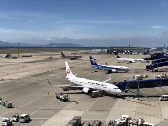 JAL、ANA、スカイマーク、ジェットスター・ジャパンの飛行機