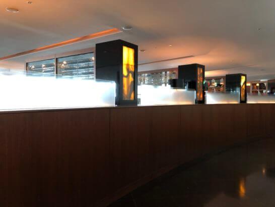 六本木ヒルズクラブのの廊下