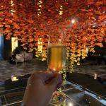 東京離宮 アメックス センチュリオンラウンジのシャンパン