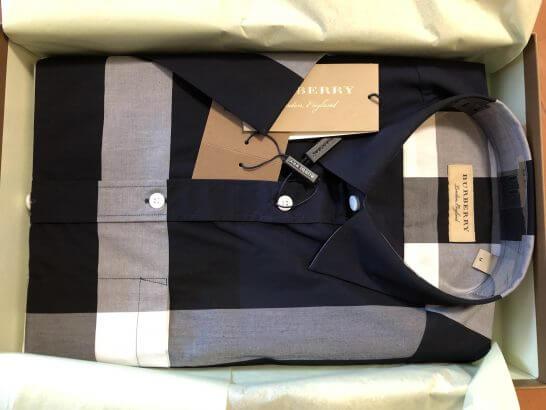 Farfetchで買ったバーバリーのシャツ