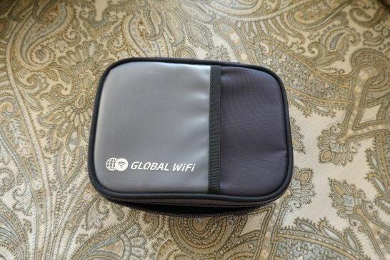 グローバルWi-Fiのポーチ