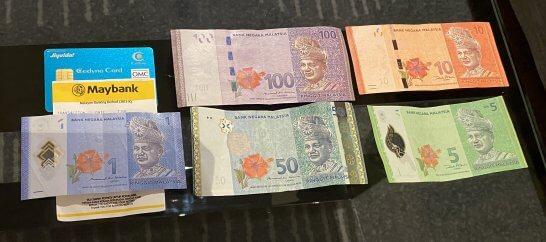 セディナカードJiyu!da!とマレーシアの外貨