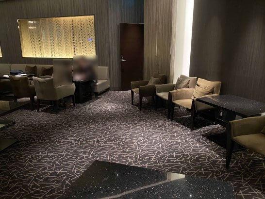 ANAインターコンチネンタルホテル東京のTHE MIXX ROOMの室内