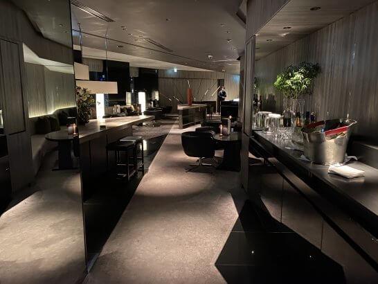 ANAインターコンチネンタルホテル東京のMIXXバー