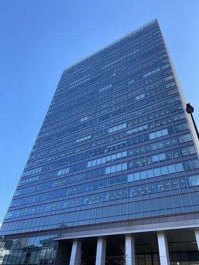 目黒駅前のオフィスビル