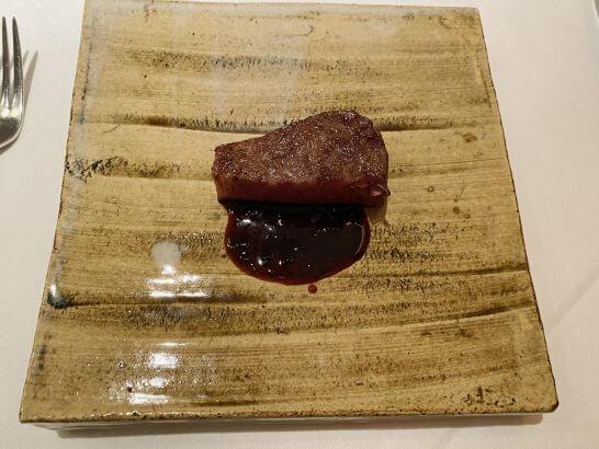エクアトゥールの肉料理