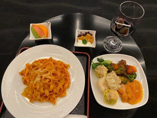 ANA SUIT LOUNGEの食事 (2)