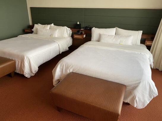 ウェスティンホテル グアムのツインベッド