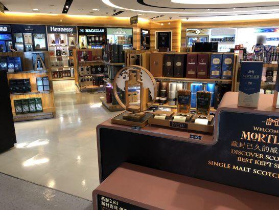 台湾 桃園空港の免税店