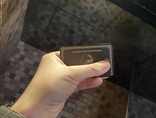 アメックスセンチュリオンのチタンカード