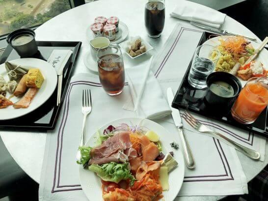 コンラッド東京の朝食