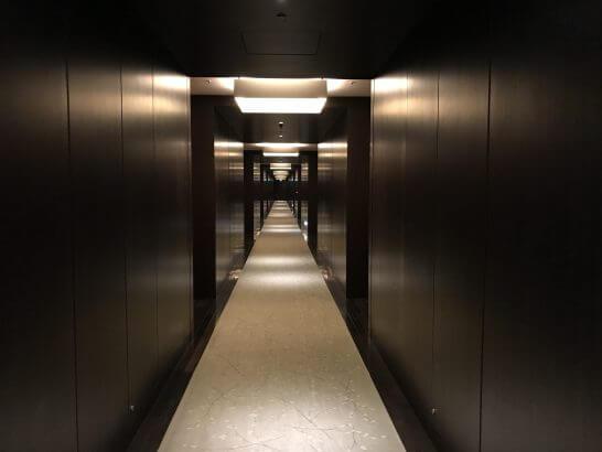 コンラッド東京の廊下