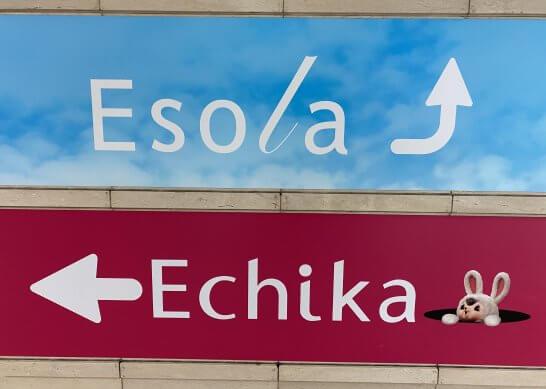 EsolaとEchika