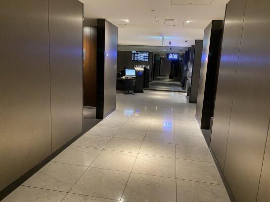 ANAスイートラウンジ(T3)の廊下