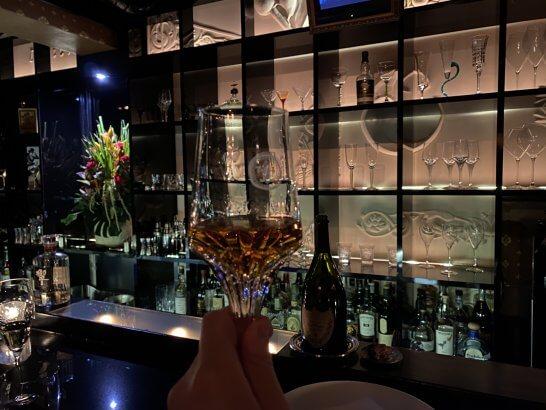 ヴィラフォッシュ西麻布で飲むウイスキー