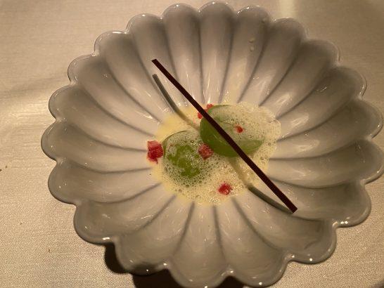 シャングリ・ラホテル東京のピャチェーレのデザート1品目