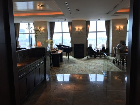 シャングリ・ラホテル東京のザ・ロビーラウンジ