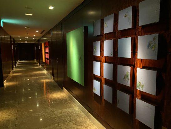 シャングリ・ラホテル東京の廊下