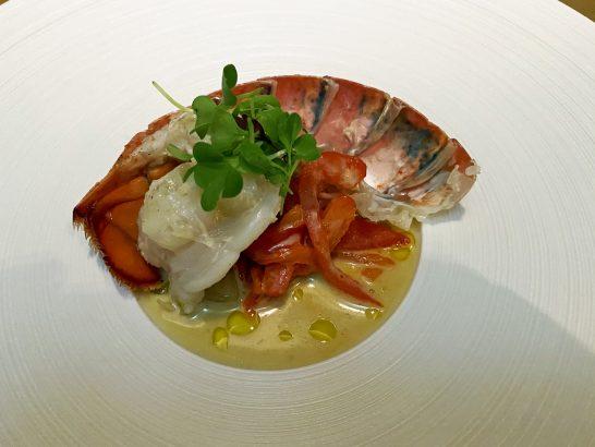 インターコンチネンタル横浜Pier8 Larboardのロブスター料理