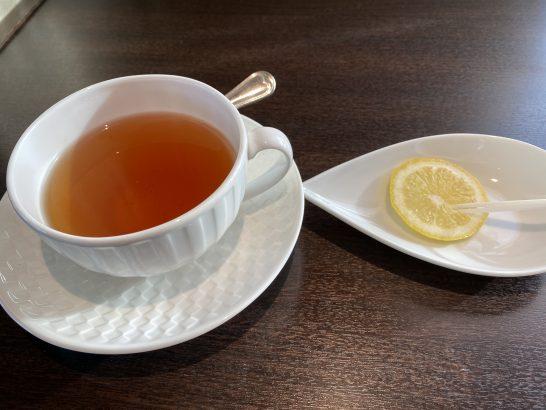 ウェスティンホテル大阪のエグゼクティブクラブラウンジの紅茶