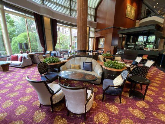 ウェスティンホテル東京のロビーラウンジ