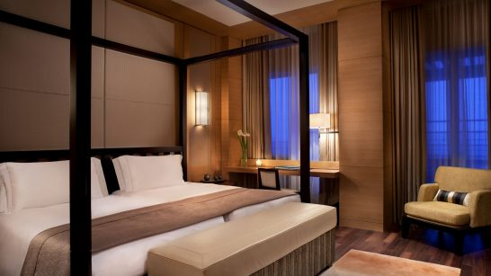 ザ・リッツ・カールトン沖縄のベッド