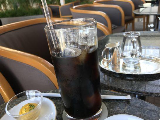パークハイアット東京のピークバーのアイスコーヒー