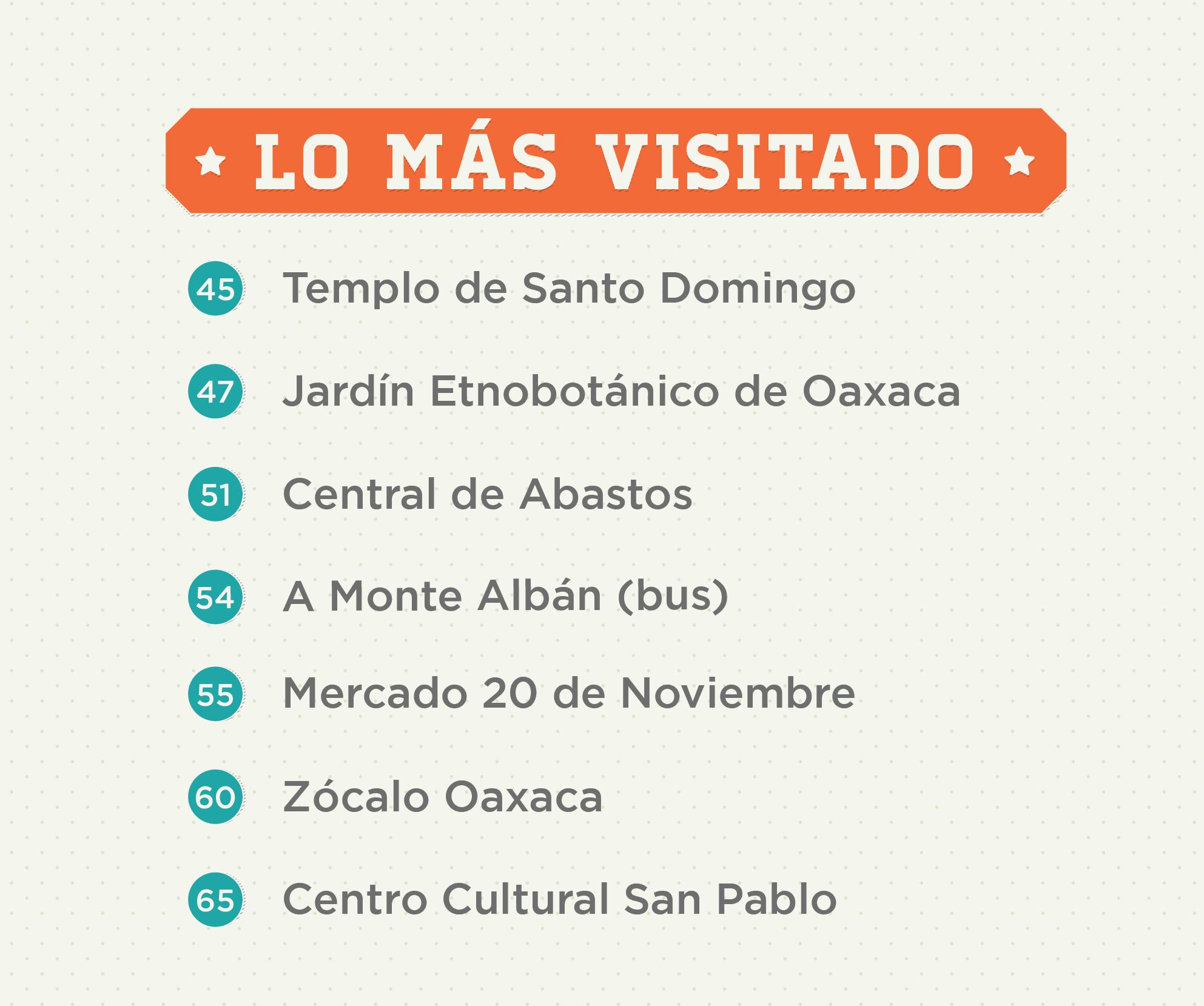 Oaxaca Map Portfolio Detail 5