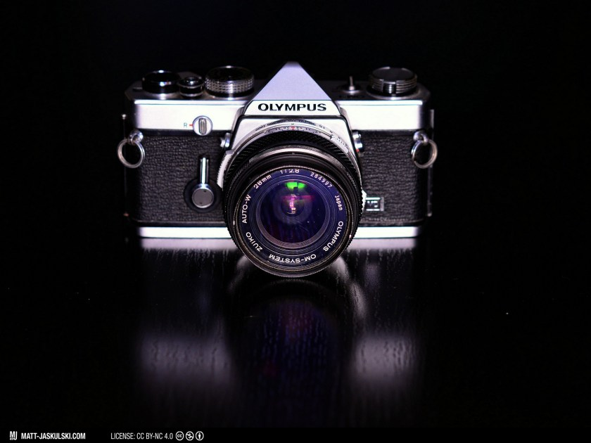 analog camera gear olympus olympusom om1 photography slr vintage