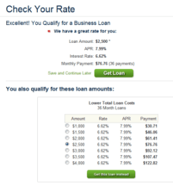 Check Your Rate - Lending Club - Dumb Passive Income