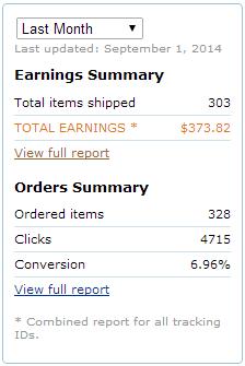 Amazon earnings August 2014