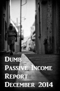 Passive Income Report December 2014