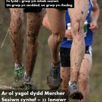 Clwb Cerdded a Rhedeg Traws Gwlad | Walking & Cross Country Running Club