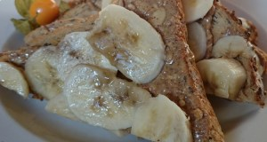 Banana and nut butter at Iydea